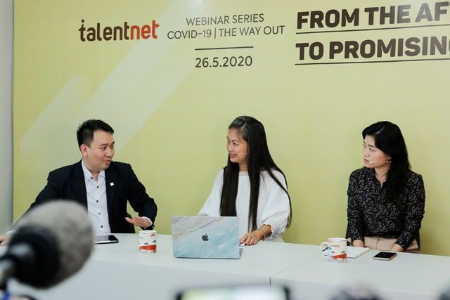 A panel discussion in Talentnet Webinar Series about businesses dealing with COVID-19 situation