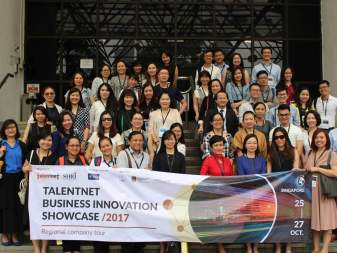 First-ever Talentnet Business Innovation Showcase In Singapore