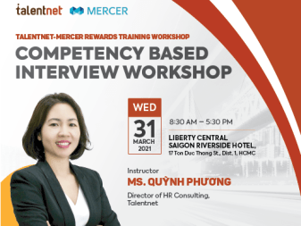 COMPETENCY BASED INTERVIEW WORKSHOP
